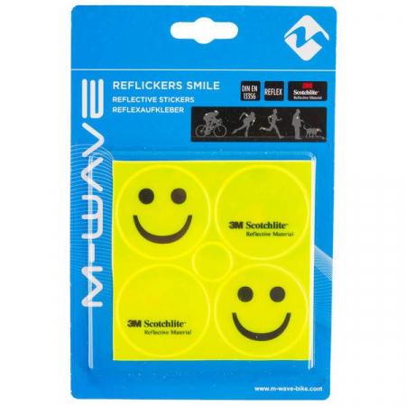 """Stikere Reflectorizante M-WAVE """"REFLICKERS SMILE""""0"""