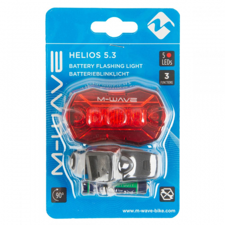 Stop Spate cu Baterii M-Wave Helios 5.31