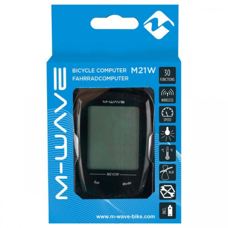 Bike Computer Wireless/Touchscreen M-WAVE 21 Functii3