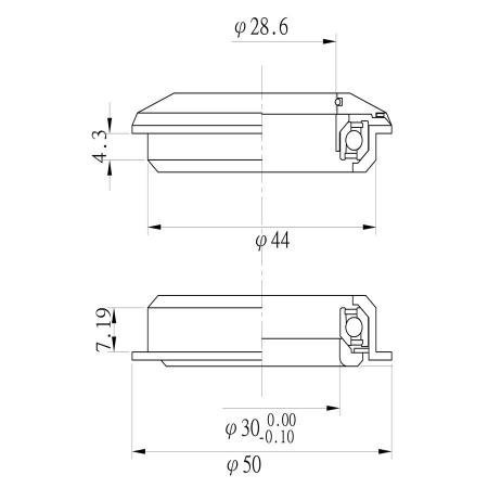 Cuvete semi integrate Tange aluminiu2