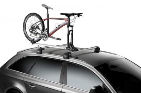 Suport biciclete ThruRide - Argintiu3