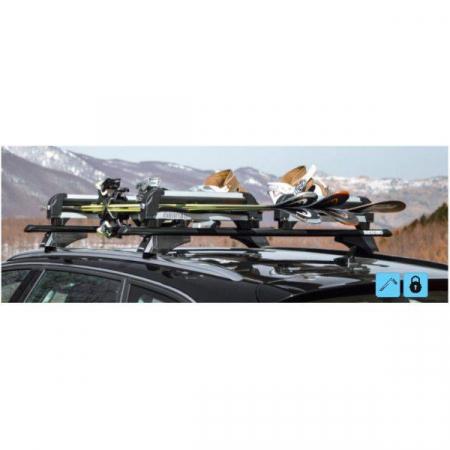 Suport ski/snowboard Menabo Iceberg 4 pe bare transversale, 4 perechi ski / 2 snowboard4