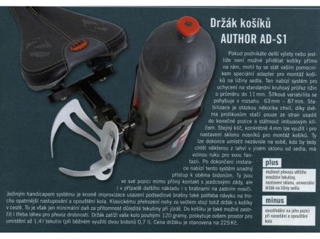 Adaptor Suport Bidon AUTHOR AO-S11
