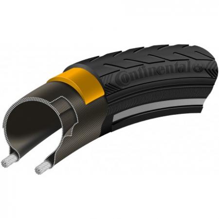 Anvelopa Continental Ride Classic Reflex EXTRA PunctureBelt 42-622 (28*1.6)0