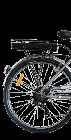 "Bicicleta ITALWIN NUVOLA4 eBIKE 24x1.75""  Autonomie 65 km1"