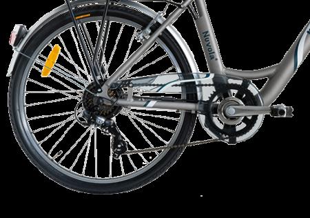 "Bicicleta ITALWIN NUVOLA4 eBIKE 24x1.75""  Autonomie 65 km3"