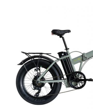 "Bicicleta Pliabila FAT e-Big WAYEL E-BIKE 20x4"" Sabbia Autonomie 75 km [1]"