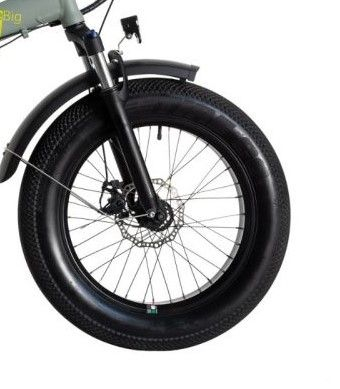 "Bicicleta Pliabila FAT e-Big WAYEL E-BIKE 20x4"" Sabbia Autonomie 75 km [2]"