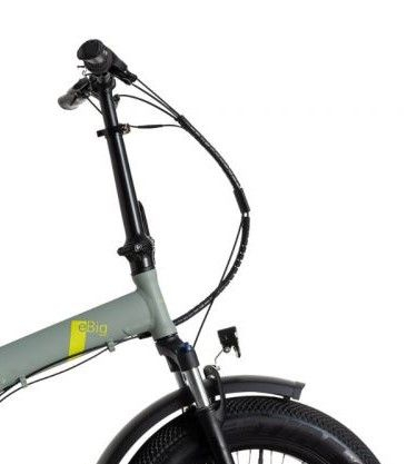 "Bicicleta Pliabila FAT e-Big WAYEL E-BIKE 20x4"" Sabbia Autonomie 75 km [3]"
