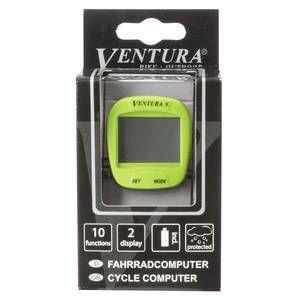 """Bike Computer VENTURA """"X"""" 10 Functii Verde1"""
