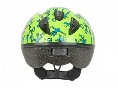 Casca Ciclism AUTHOR Trickie 49-56 cm Verde/Albastru2