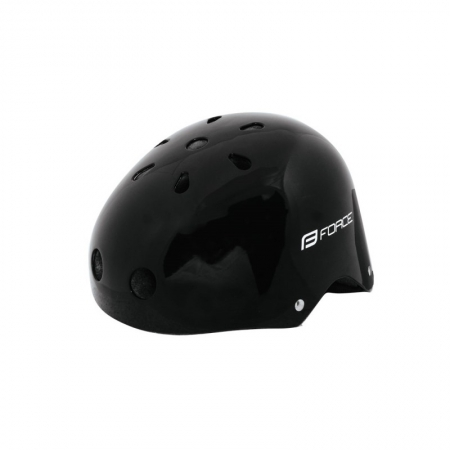 Casca Force BMX negru lucios0