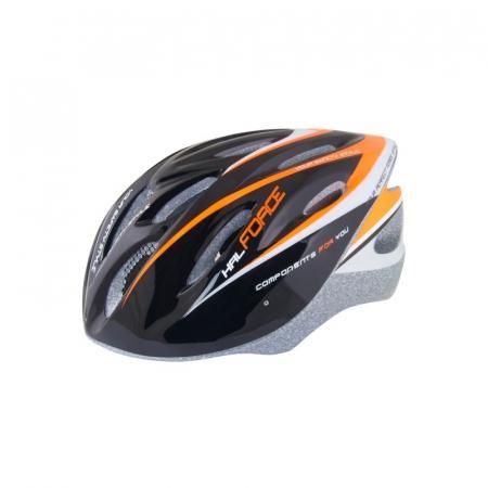 Casca Force Hal negru/portocaliu/alb0