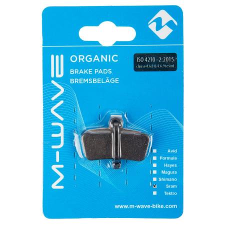 Placute de frana organice M-Wave S3 (Sram X0 Trail / Guide)1