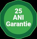 25 Ani Garantie