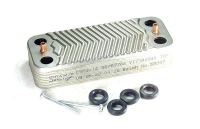 Schimbator de caldura in placi pentru centrala termica Viessmann. 0