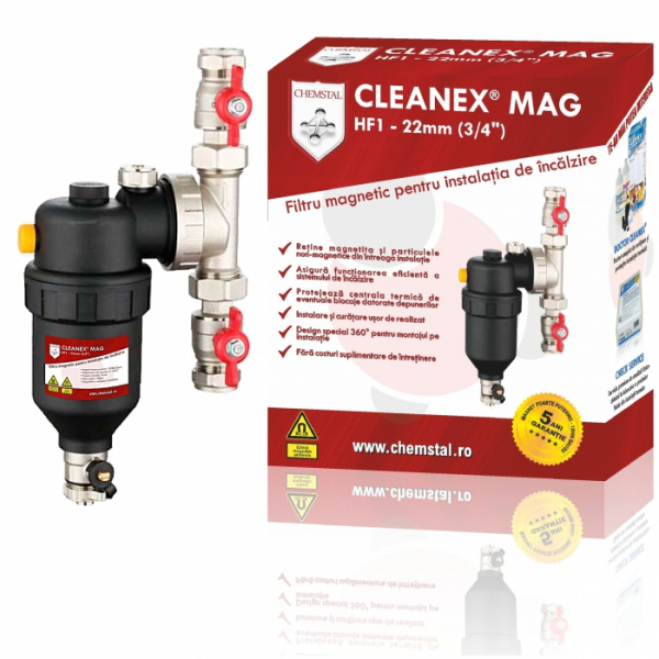 Filtrul antimagnetita Cleanex Mag HF 0