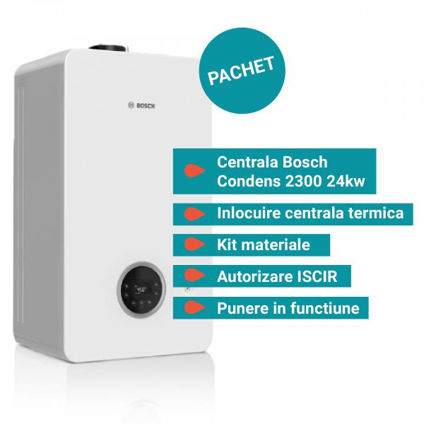 Pachet Centrala termica Bosch Condens 2300W