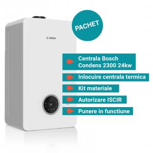 Pachet Bosch Condens 2300W