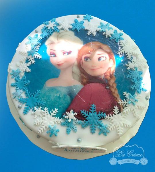 Tort Ana si Elsa 0