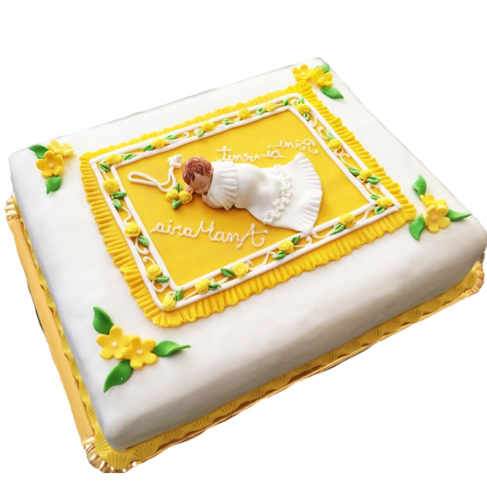 Tort botez bebe cu paturica [0]