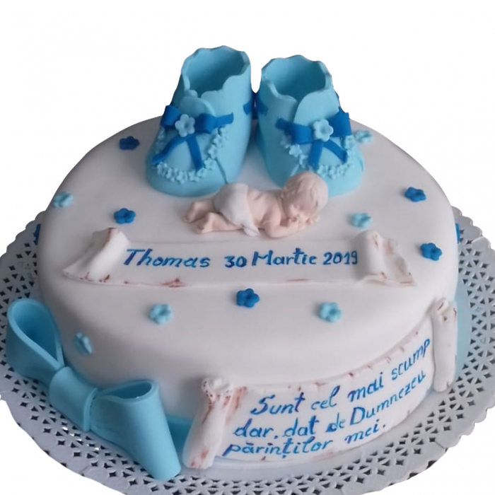 Tort botez bebe si botosei [0]