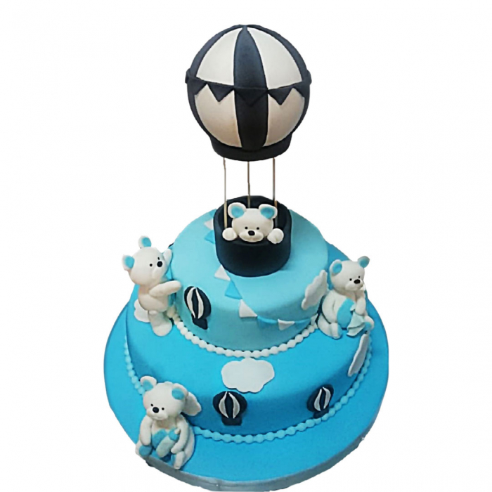 Tort botez ursuleti in balon [0]