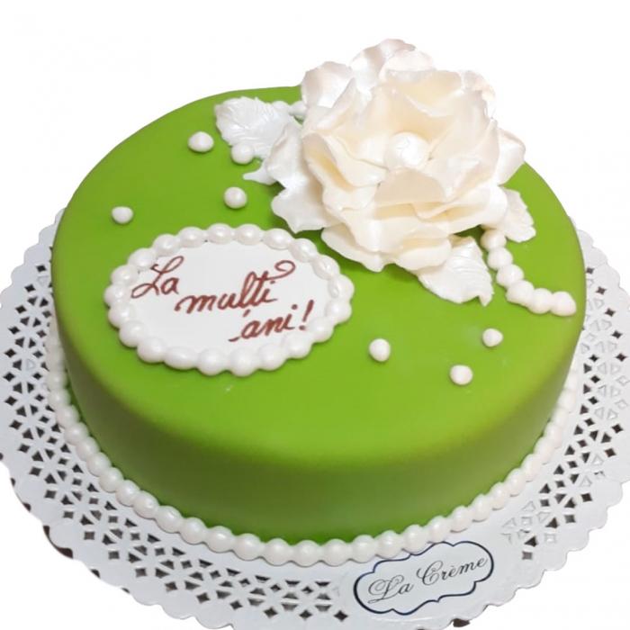 Tort colorat cu flori model 4 [0]
