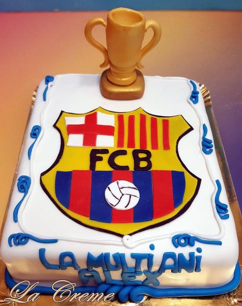Tort FC Barcelona Emblema 0