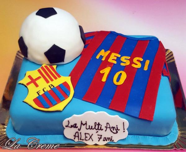 Tort FC Barcelona Messi 0