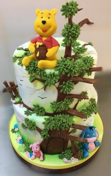 Tort Winnie the Pooh Model 2 0