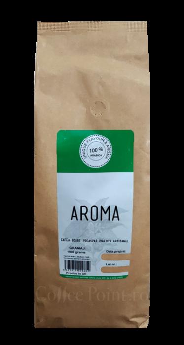 Cafea boabe proaspat prajita Aroma 1kg [0]