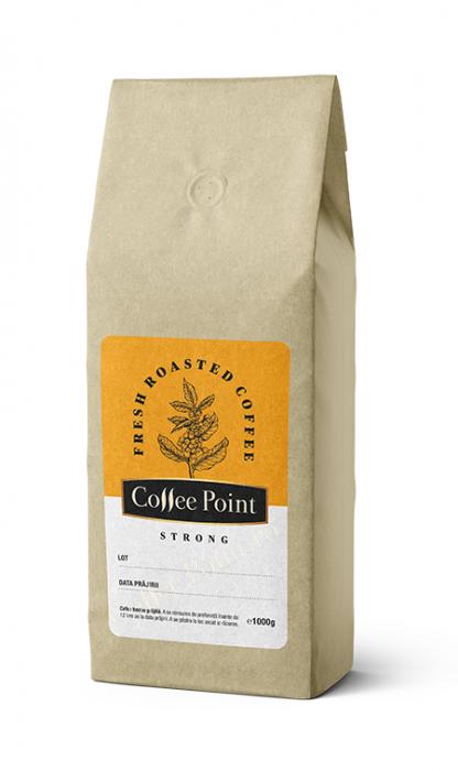 Cafea boabe proaspat prajita Coffeepoint Strong 1Kg [0]