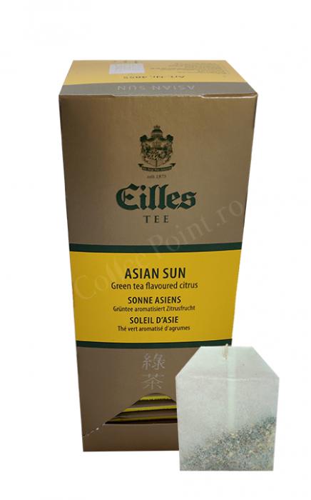Ceai plic Eilles Green Tea Asian Sun 25buc [0]