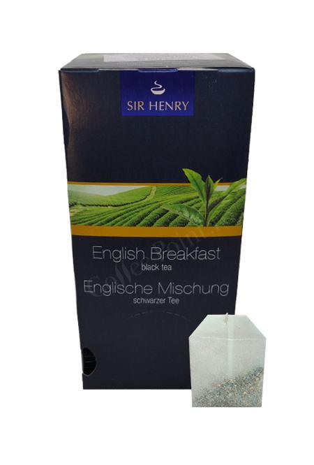Ceai plic Sir Henry English Breakfast Black tea 25buc [0]