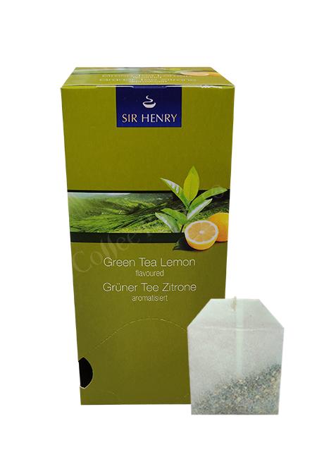 Ceai plic Sir Henry Lamaie si ceai verde 25buc [0]