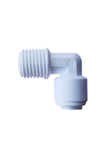 Conector filtru 3M Cupla rapida cot furtun 1/4, filet exterior 1/4 [0]