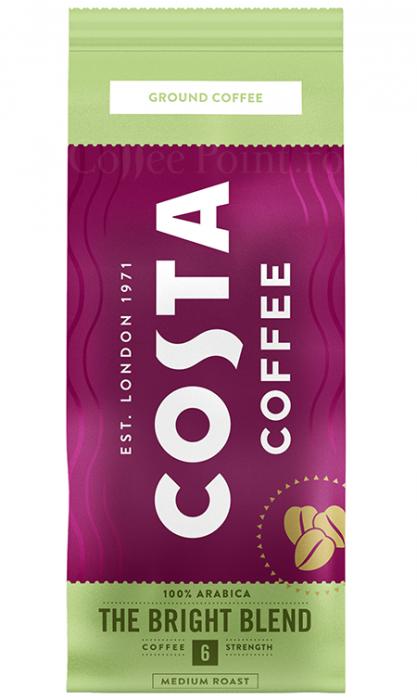Costa Bright Blend cafea macinata 200g [0]