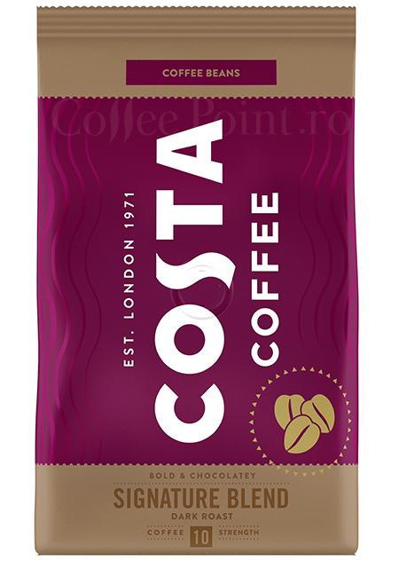Costa Signature Blend Dark Roast Cafea Boabe 500g [0]
