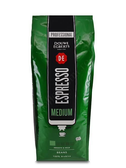 Douwe Egberts Espresso Medium cafea boabe 1Kg [0]