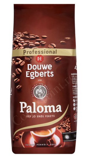 Douwe Egberts Paloma cafea boabe 1Kg [0]