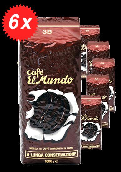 Pachet 6kg Cafea Boabe El Mundo 3B [0]