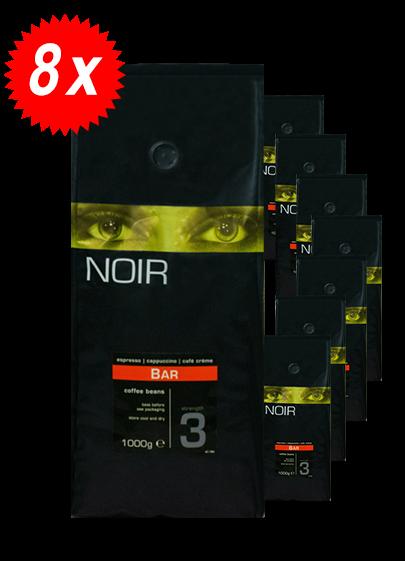 Pachet 8kg Cafea Boabe ICS Noir Bar [0]