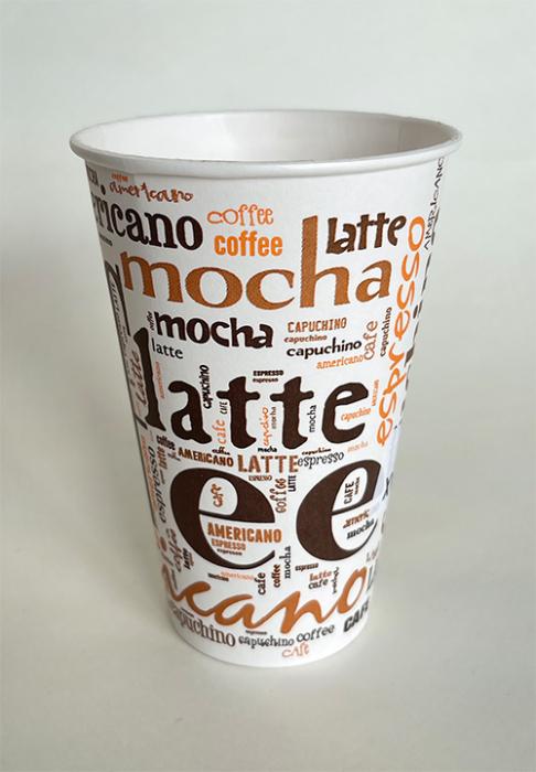 Pahar carton 12oz Coffee SIBA 50buc [0]