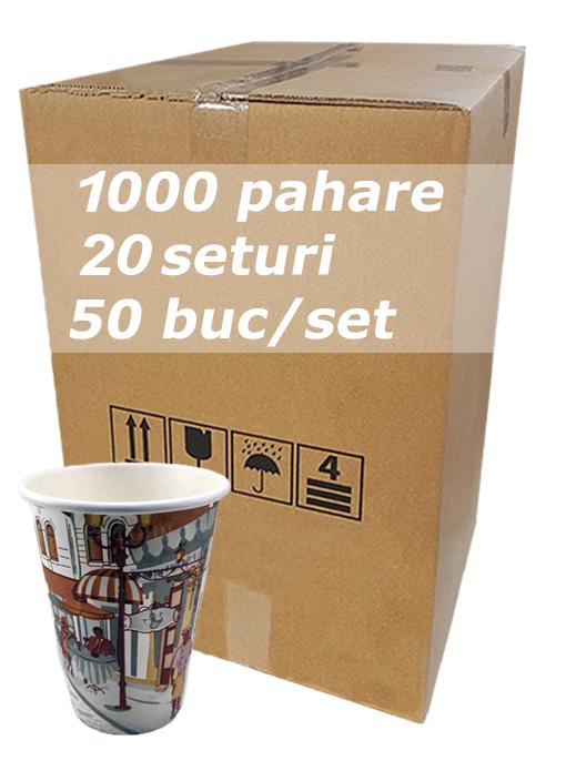 Pahar carton 12oz City Life bax 1000buc [0]