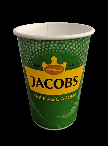 Pahar carton 12oz Jacobs 100buc [0]