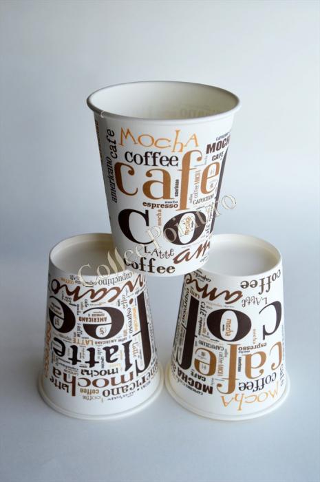 Pahar carton 6oz Coffee Coffee SIBA 50buc [0]