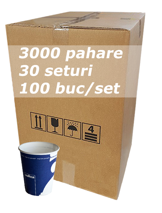 Pahar carton 6oz Lavazza RLP bax 3000buc [0]