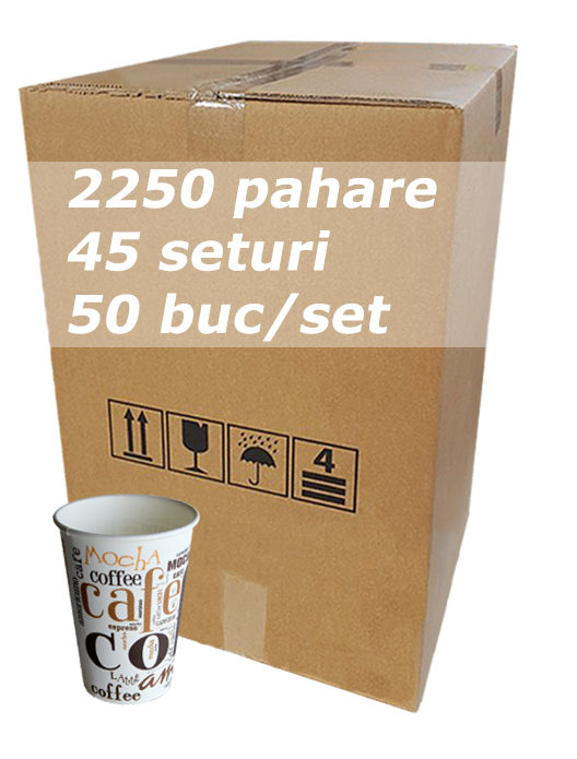 Pahar carton 7oz Coffee Coffee SIBA bax 2250buc [0]