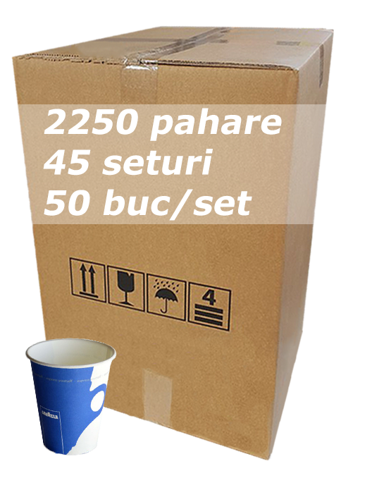 Pahar carton 7oz Lavazza SIBA bax 2250buc [0]